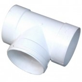 90mm Stormwater PVC T Junction