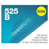 Daisy 12.80m x 6.10m Solar Pool Cover 525B
