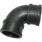 Flexi Connectors 50mm x 90 deg Elbow Rubber