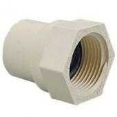 20mm x 3/4 PVC FAUCET ADAPTOR SPIGOT x F.I.