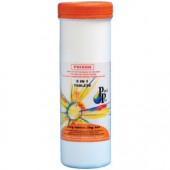 Pool Pro 5 in 1 Chlorine Tablets (Large 200g) 2kg