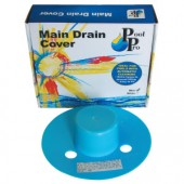 Pool Pro Main Drain Cover (Blue)