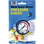 Pool Pro Pressure Gauge Metal Lower Mount