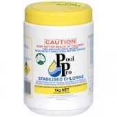 Pool Pro Stabilized Chlorine 1kg