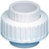 40mm x 40mm PVC BARREL UNION SLIP x SLIP