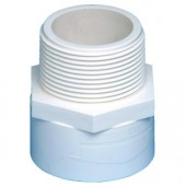 40mm x 1 1/2 PVC VALVE SOCKET SLIP x M.I.